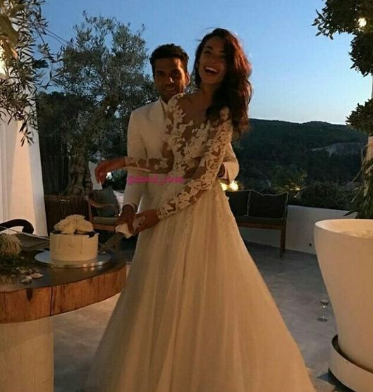Daniel Alves se casa em Ibiza (Foto: Reprodução)