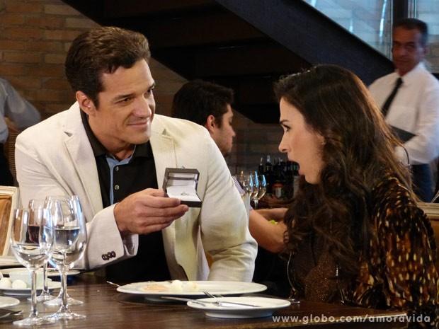 Periguete vai casar! (Foto: Amor à Vida/ TV Globo)