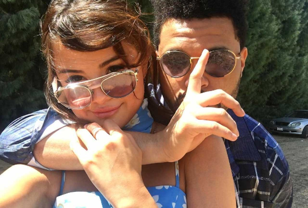 Selena Gomez e The Weeknd (Foto: reproduo/Instagram)