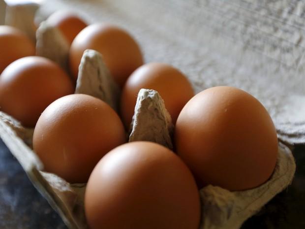 Ovos são vistos em uma casa de Palm Springs, na Califórnia  (Foto: Reuters/Sam Mircovich)