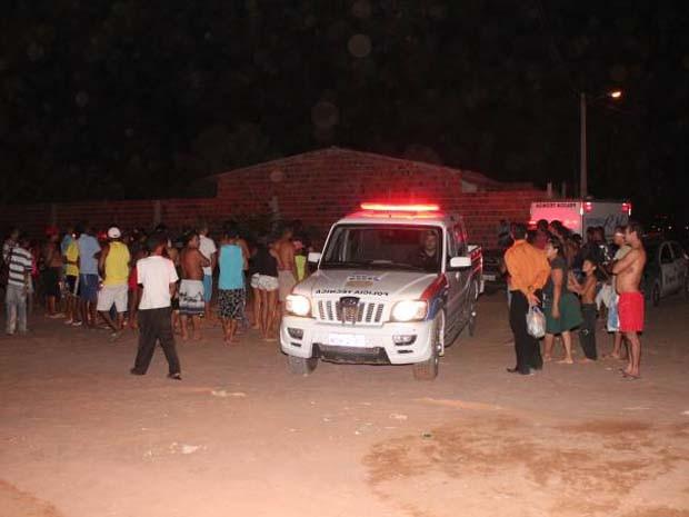Crime aconteceu na noite deste sábado (4) (Foto: Marcelino Neto)
