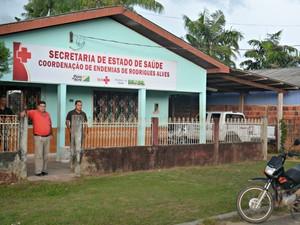 Rodrigues Alves deve decretar situação de emergência na próxima segunda-feira (14) (Foto: Adelcimar Carvalho/G1)
