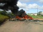 Manifestantes interditam trecho da rodovia BR-155, no sul do Pará