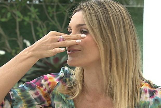 Flávia Alessandra no TV Xuxa (Foto: TV Globo/TV Xuxa)