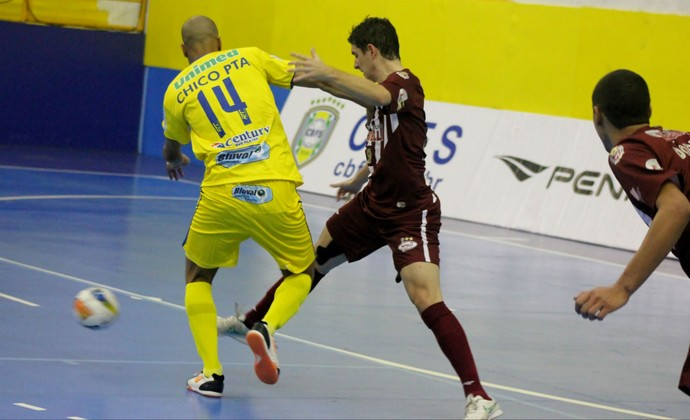 São José Futsal, Orlândia Futsal, Liga Nacional de Futsal (Foto: Brenno Domingues/Quarttus Marketing)