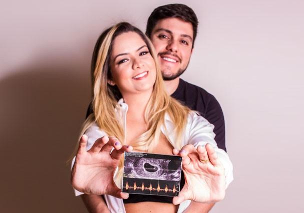 Na Reta Final Da Gravidez Maria Cecília Está Ansiosa Para Ver O