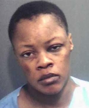 Priscilla Vaughn foi presa por morder pênis de cliente (Foto: Divulgação)