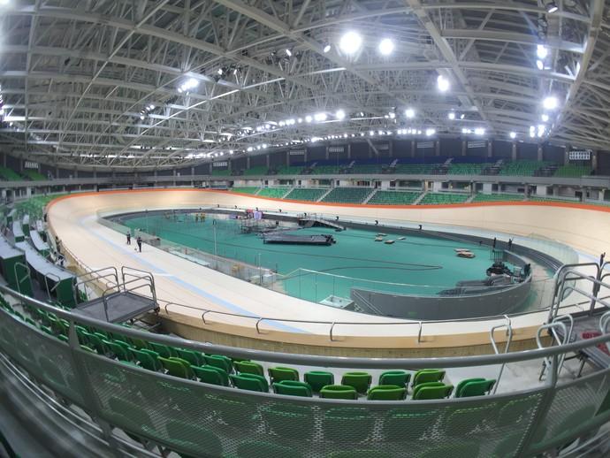 Velódromo (Foto: GloboEsporte.com)