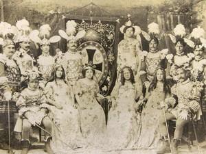 Clube da Cruz Vermelha (Foto: Divulgação/Livro História do Carnaval da Bahia - 130 Anos do Carnaval de Salvador)