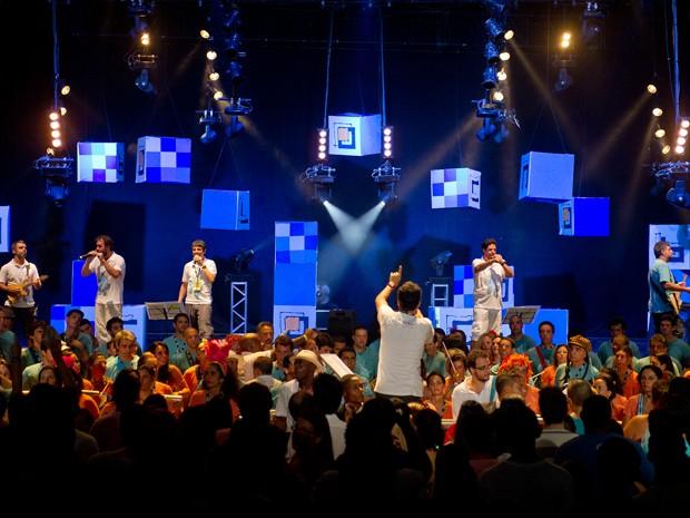 Monobloco promove ensaio antes do carnaval na Fundição Progresso (Foto: Divulgação/ Monobloco)