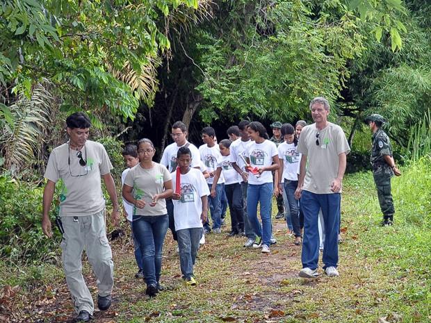 Trilhas temáticas no Jardim Botânico serão abertas na sexta e sabado, em João Pessoa (Foto: Divulgação/Secom-PB)