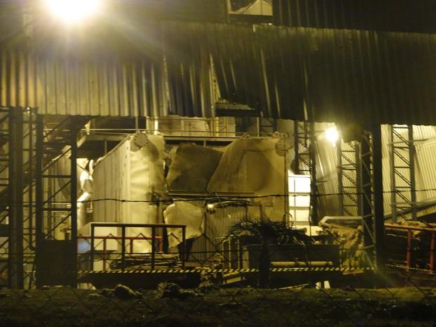 Causas da explosão do equipamento serão investigadas (Foto: O Jornal)