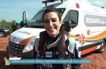Confira os bastidores do acidente com Tamara em 'Haja Coração'