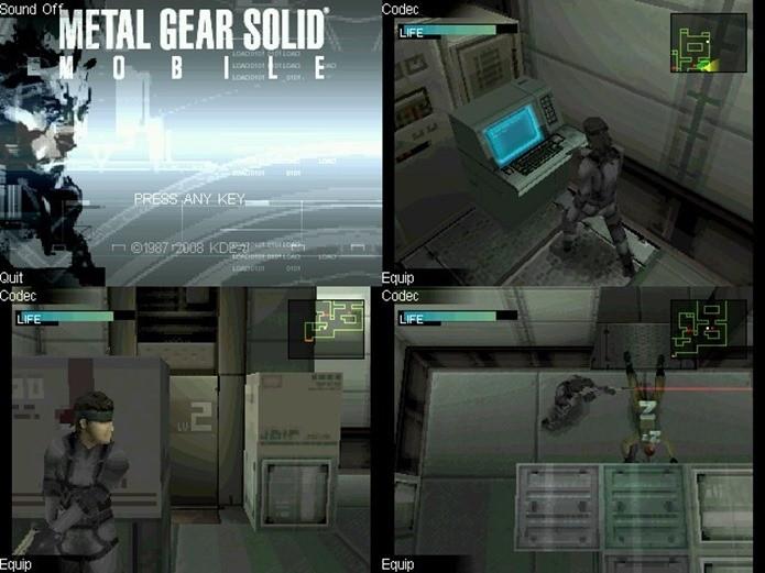 Metal Gear Mobile foi lançado para ocidente para a plataforma N-Gage 2 (Foto: Reprodução / Ovigaming)