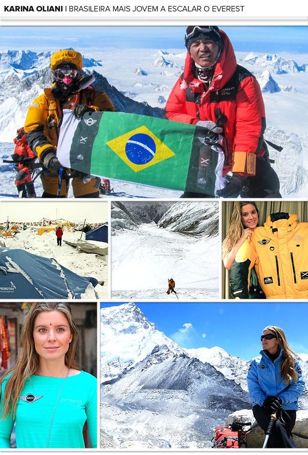 Mosaico Karina Oliani Everest (Foto: Editoria de Arte)