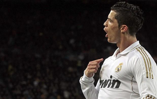 cristiano ronaldo real madrid gol barcelona (Foto: Agência EFE)