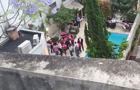 Convidados na festa de aniversário de 70 anos do ex-presidente em São Paulo (Foto: Carolina Dantas/G1)