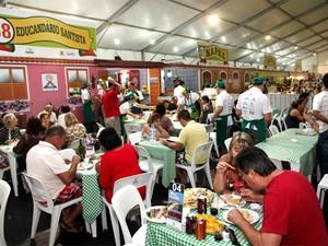 Festa Inverno em Santos (Foto: Marcelo Martins/Prefeitura de Santos)