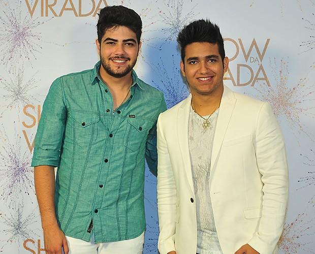 Henrique e Juliano (Foto: Reinaldo Marques / TV Globo)