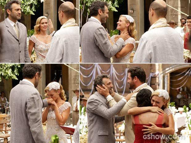 Confira os melhores momentos do casamento de Mundo e Iolanda (Foto: Fábio Rocha/TV Globo)