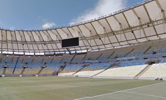 Google atualiza Street View com imagens do Maracanã, para a Copa do Mundo (Foto: Reprodução/Google)