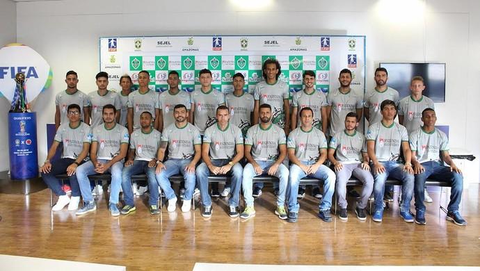 MANAUS F.C (Foto: Emanuel Mendes Siqueira/Manaus)