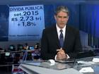 Dívida pública sobe 1,8% em setembro, para R$ 2,73 trilhões