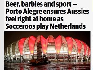 Jornal australiano destaca semelhanças entre a cultura do Rio Grande do Sul e a da Austrália (Foto: Reprodução/Herald Sun)