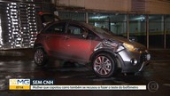 Mulher é detida depois de capotar carro no Gutierrez, em BH