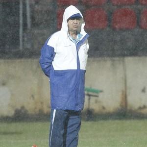 Marcelo Oliveira comandou o Cruzeiro na vitória sobre o Villa Nova-MG (Foto: Washington Alves/ Light Press)