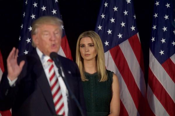 Donald Trump e Ivanka Trump (Foto: Getty Images)