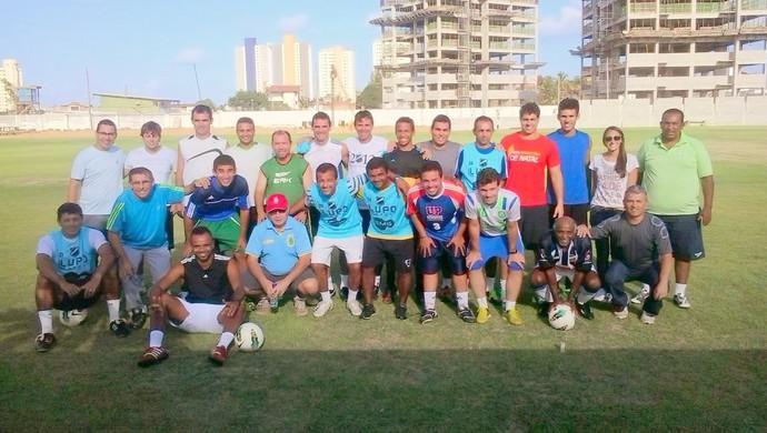 Juliana Lima é a única mulher na pós-graduação em metodologia do futebol, em Natal (Foto: Arquivo Pessoal)