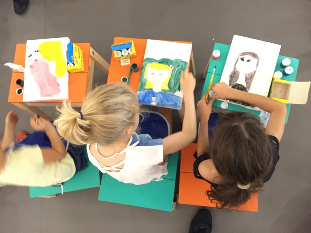 Projeto Quatro Estações reúne oficinais manuais e sensorais para crianças (Foto: Leonardo Cassano)