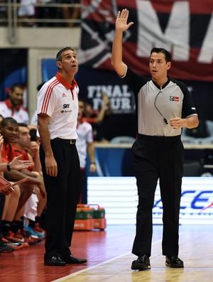 Flamengo x Pioneros - José Neto - Liga das Américas de basquete (Foto: Fiba Americas)