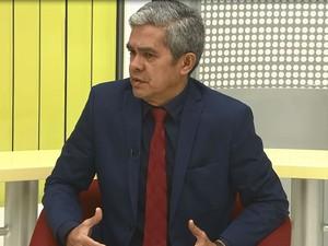 Secretário de Justiça e Segurança Pública, Ericláudio Alencar (Foto: Reprodução/Rede Amazônica no Amapá)