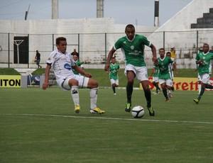 William Carioca, do Alecrim, foi emprestado ao Atlético Potengi (Foto: Gabriel Peres)