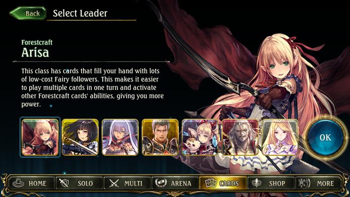 Cada personagem possui um tipo de deck e estilo de combate diferente (Foto: Reprodução/Tais Carvalho)