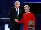 Hillary lidera nova pesquisa após 1º debate presidencial com Trump