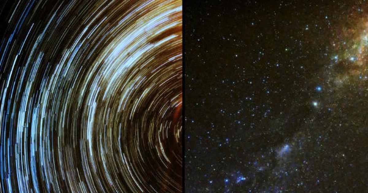 Astrônoma amadora registra o 'rastro' das estrelas na Via Láctea