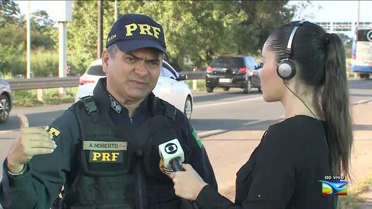 PRF registra 17 acidentes durante o feriado em rodovias do Maranhão