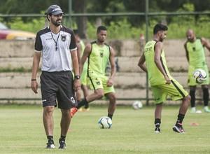 Cairo Lima, durante treinamento do Volta Redonda no CT Oscar Cardoso (Foto: Wallace Feitosa/Volta Redonda FC)