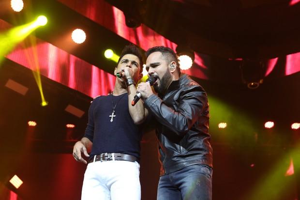 Zezé di Camargo e Luciano (Foto: Thiago Duran/AgNews)