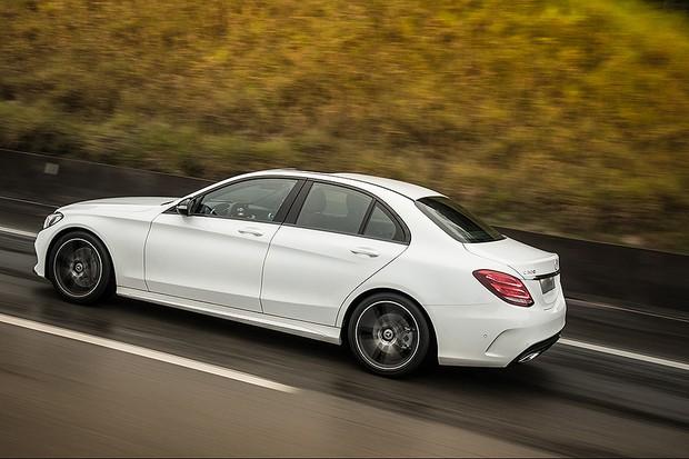 Mercedes Classe C 300 Sport 233 O Novo Topo De Linha Da Gama
