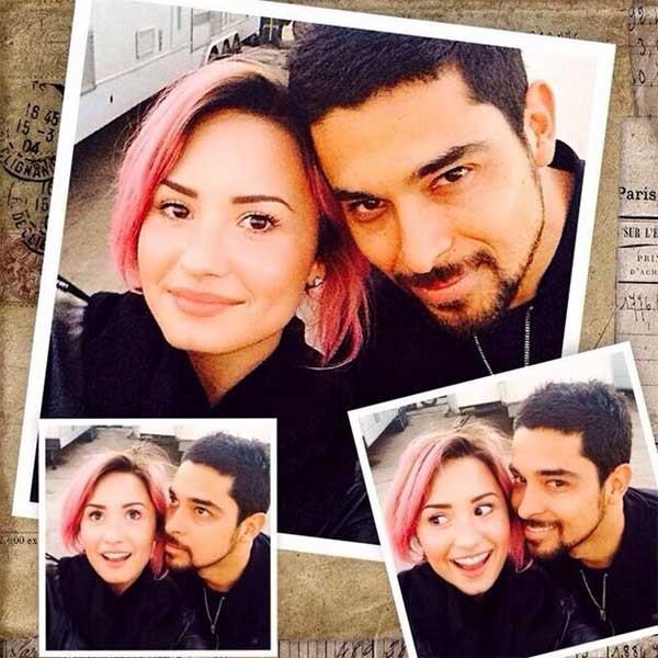 Demi Lovato e Wilmer Valderrama (Foto: Instagram)