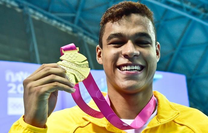 Matheus Santana 100m livre (Foto: Wander Roberto/Inovafoto/COB)