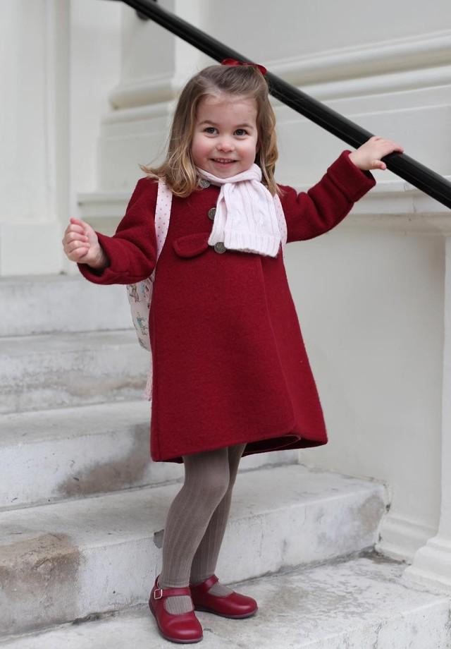 Princesa Charlotte (Foto: Reprodução/ Instagram)