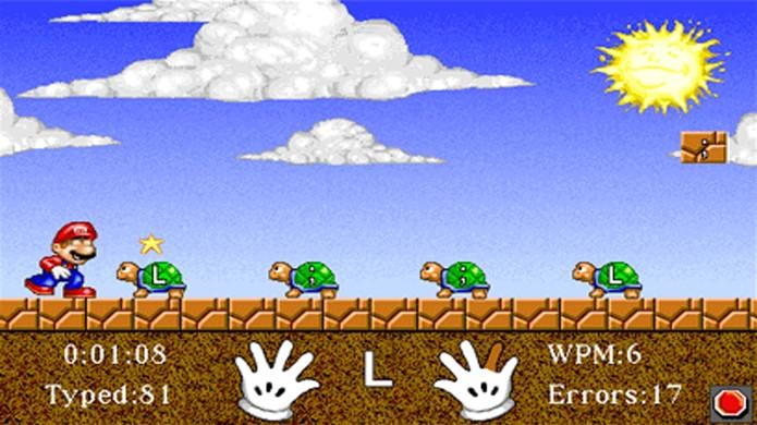 Mario Teaches Typing era um jogo estranho com um valor educativo um pouco questionável (Foto: Reprodução/Geekenstein)