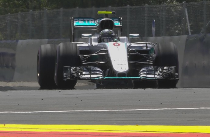Nico Rosberg treino GP da Áustria (Foto: Reprodução / Twitter)