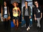 Veja o estilo das famosas no primeiro dia do Lollapalooza, em São Paulo