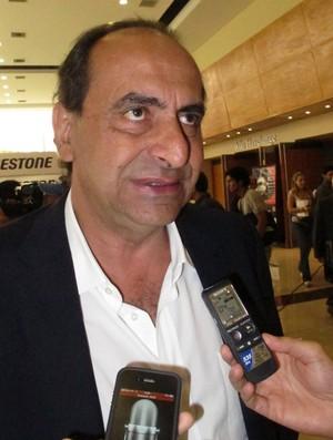 alexandre kalil sorteio libertadores atlético-mg (Foto: Edgard Maciel de Sá/Globoesporte.com)